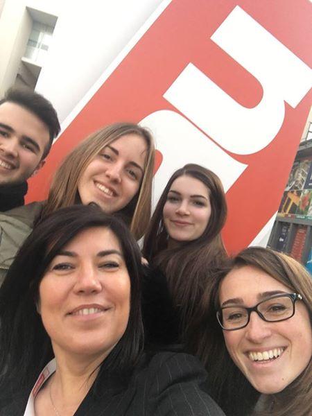 Secondo giorno allo #SMAU Padova con i nostri mitici stagisti! #relazionicosmiche