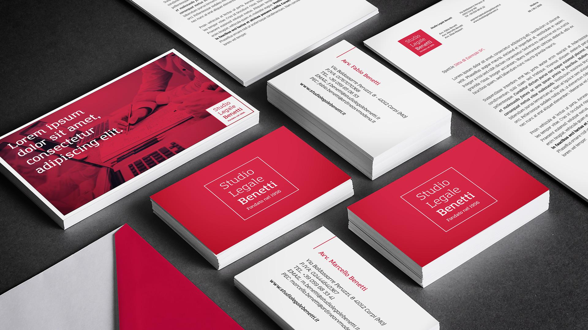 Studio Legale Benetti – Brand identity e digital strategy